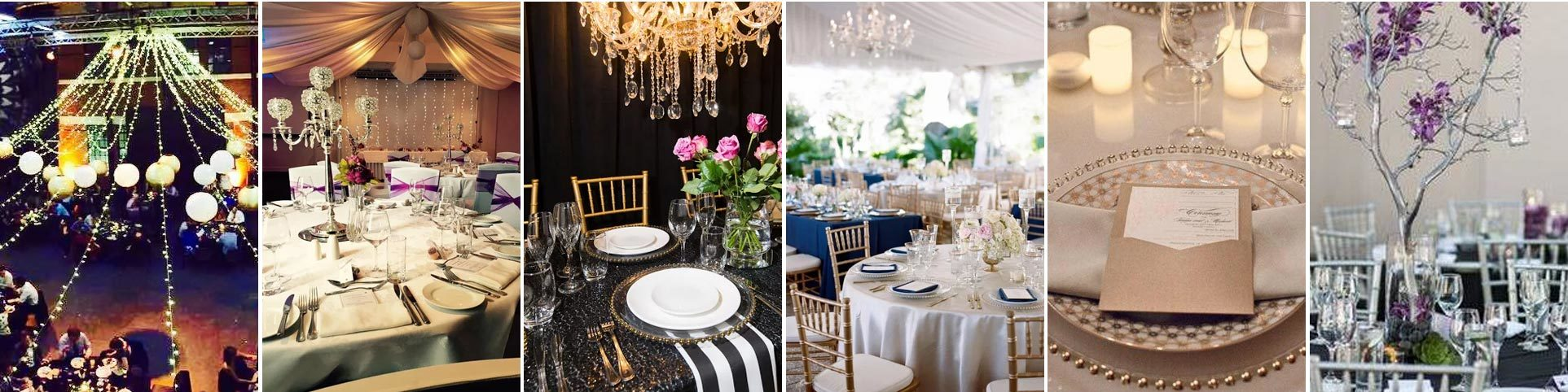 High Quality Party Hire Hamilton Wedding Table Decorations Hire