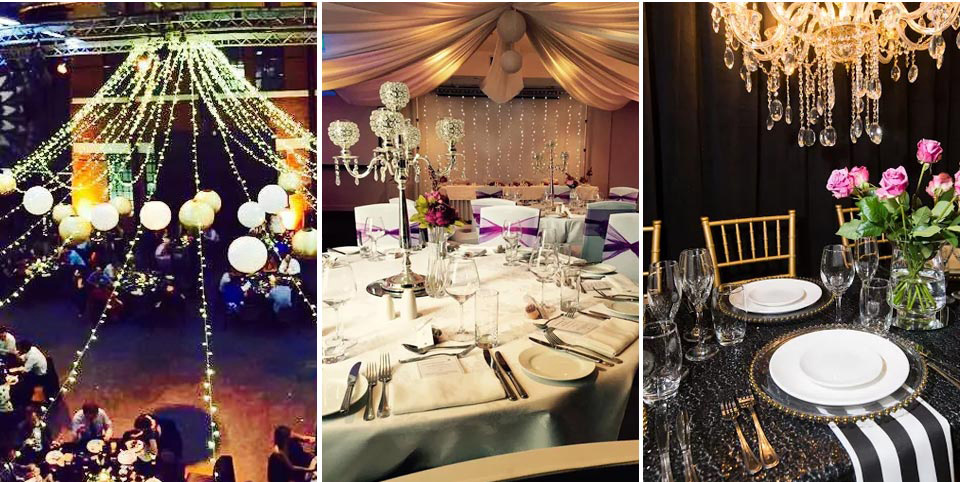 Party hire hamilton wedding table decorations hire online hire junglespirit Image collections
